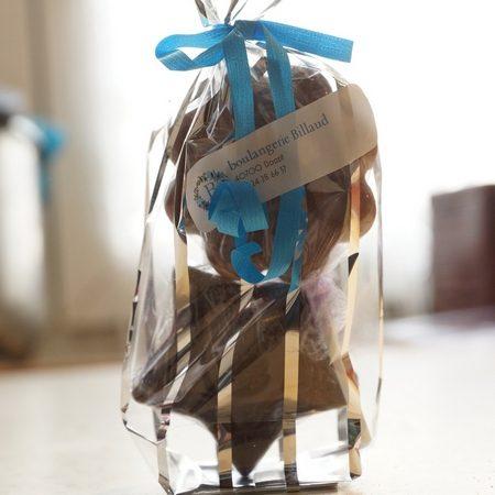 Sucettes chocolat